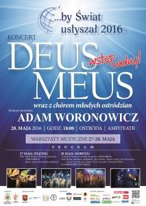 Koncert ewangelizacyjny 2016 - Plakat A2